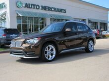 2015_BMW_X1_sDrive28i, LEATHER SEATS, PANORAMIC SUNROOF, NAVIGATION, BACKUP CAMERA, HEATED FRONT SEATS_ Plano TX