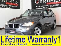 BMW X1 sDrive28i NAVIGATION SUNROOF LEATHER SEATS BLUETOOTH DUAL A/C POWER LOCKS 2015