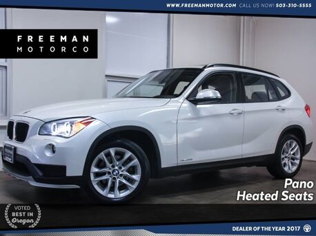 2015_BMW_X1_xDrive28i Pano Cold Weather Pkg 28K Miles_ Portland OR