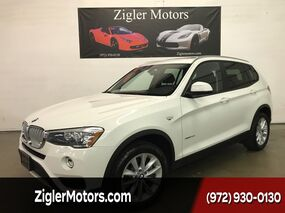 BMW X3 Diesel xDrive28d Navigation ,Heads-Up One Owner Factory Warranty 2015