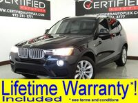 BMW X3 sDrive28i DRIVER ASSIST PKG NAVIGATION PANORAMA LEATHER HEATED SEATS REAR CAMERA 2015