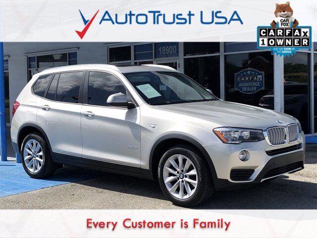 2015 BMW X3 sDrive28i Miami FL