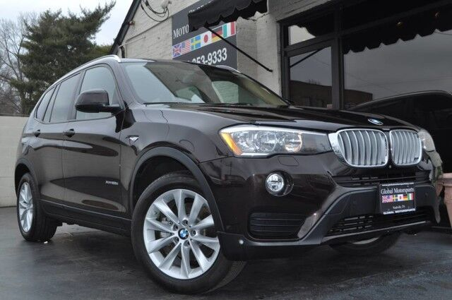 2015 BMW X3 xDrive28d/34 MPG HWY/Premium Pkg w/ Comfort Access, Panoramic Roof/Technology Pkg w/ Navigation, HUD/Driver Assistance Plus Pkg w/ Active Blind Spot Detection, Surround View/Cold Weather Pkg Nashville TN