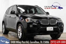 2015_BMW_X3 xDrive28d_AWD PREMIUM PKG DRIVER ASSIST PKG TECH PKG NAVIGATION PANORAMA_ Carrollton TX