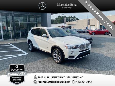 2015_BMW_X3_xDrive28i ** Pohanka Certified 10 year / 100,000 **_ Salisbury MD