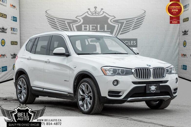 2015 BMW X3 xDrive28i, NAVI, BACK-UP CAM, PANO ROOF, PARKING SENSORS, HEATED SEATS Toronto ON