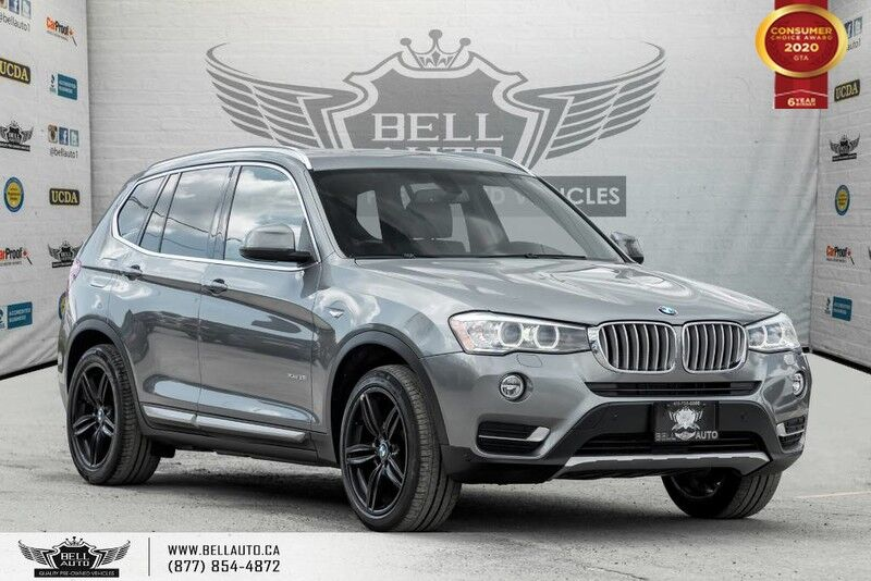 2015 BMW X3 xDrive28i, NO ACCIDENT, AWD, NAVI, REAR CAM, SUNROOF Toronto ON