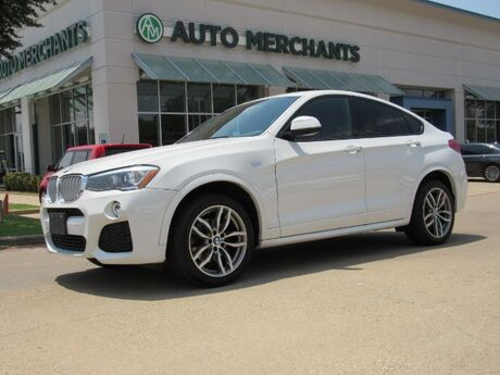 2015 BMW X4 xDrive28i NAV, HTD STS/STEERING, SUNROOF, PWR LIFT, BLUETOOTH, PUSH BUTTON, BACKUP CAM, M-SPORT Plano TX