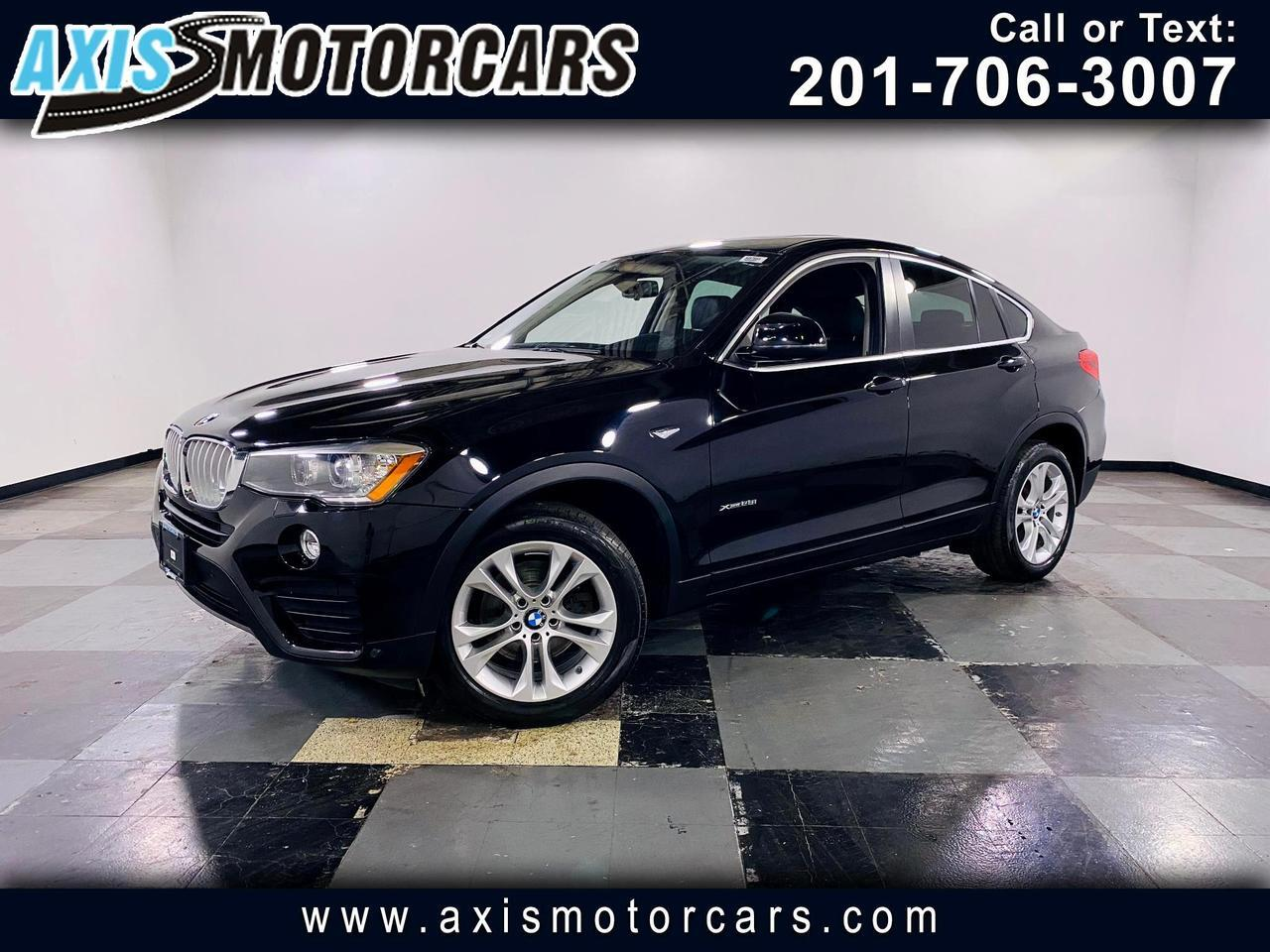 2015 BMW X4 xDrive28i w/Backup Camera Navigation Sunroof Jersey City NJ