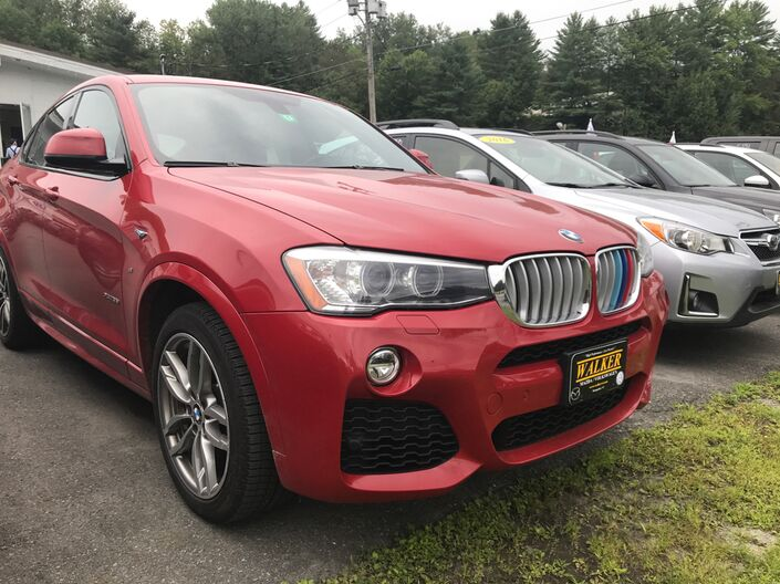 2015 BMW X4 xDrive35i Barre VT