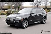 2015 BMW X5 5.0 M Sport/3rd Row Interior/Executive and Lighting Pkg MSRP $86,650 and 20 Wheels/Drivers Assistance Plus