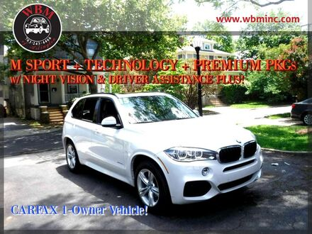 2015_BMW_X5_w/ M-Sport & Technology Pkg_ Arlington VA