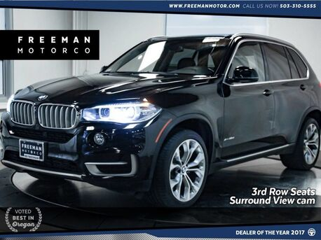 2015_BMW_X5_xDrive35d 3rd Row Seats Surround View Cam Nav_ Portland OR