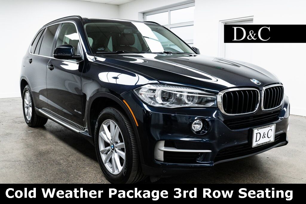 2015 BMW X5 xDrive35i Cold Weather Package 3rd Row Seating Portland OR