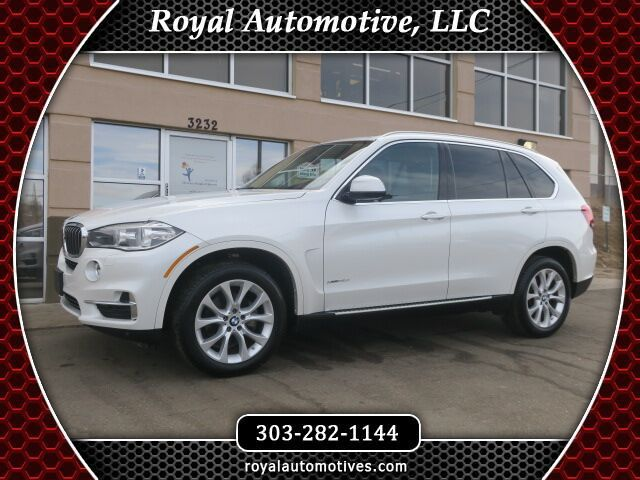 2015 BMW X5 xDrive35i Lux, Pre, Cold and Dr Assis Plus Package Englewood CO