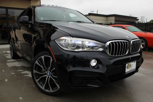 2015 BMW X6 xDrive50i EXECUTIVE PACKAGE M SPORT 1 OWNER CLEAN CARFAX Houston TX