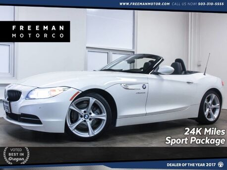 2015_BMW_Z4_sDrive28i 24K Miles Sport Pkg Heated Seats_ Portland OR