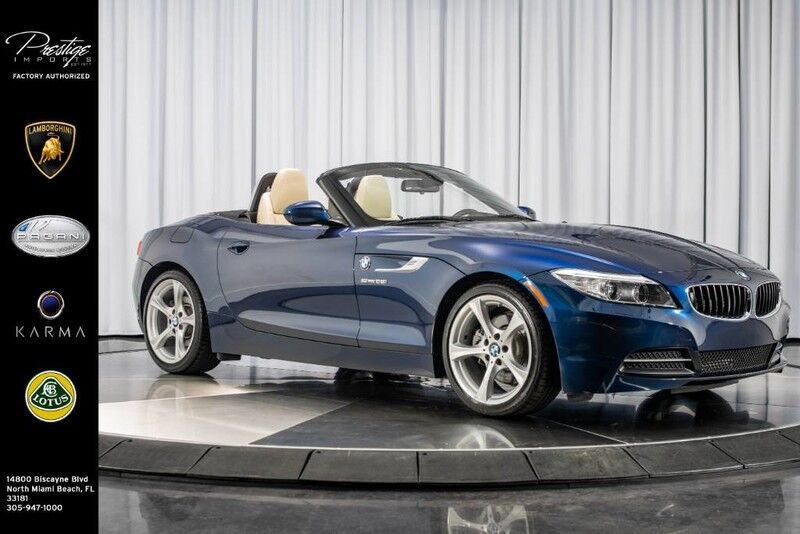 2015_BMW_Z4_sDrive28i_ North Miami Beach FL