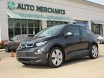 2015 BMW i3 Base w/Range Extender NAV, PARK AID, BLUETOOTH, CLOTH/LEATHER SEATS, AUX INPUT, PUSH BUTTON START