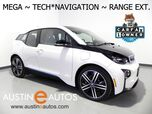 2015 BMW i3 Mega World w/Range Extender *NAVIGATION, ACTIVE DRIVE, RADAR CRUISE, HEATED SEATS, 20 INCH WHEELS, BLUETOOTH PHONE & AUDIO