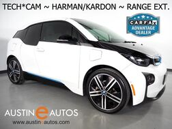 2015_BMW_i3 Mega World w/Range Extender_*NAVIGATION, BACKUP-CAMERA, DRIVING ASSISTANT, ADAPTIVE CRUISE, HARMAN/KARDON, COMFORT ACCESS, HEATED SEATS, 20 INCH WHEELS, BLUETOOTH PHONE & AUDIO_ Round Rock TX