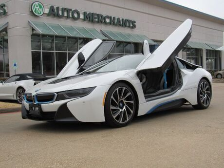 2015 BMW i8 ***$143k MSRP***  ELECTRIC, AUTOMATIC, TERA WORLD PACKAGE, HEADS UP DISPLAY, BUTTERFLY DOORS Plano TX