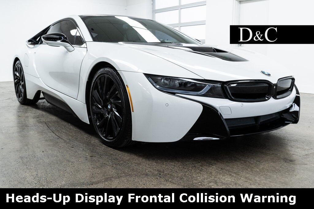 2015 BMW i8 Heads-Up Display Frontal Collision Warning Portland OR