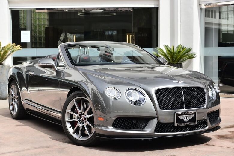 2015 Bentley Continental GT V8 S  Beverly Hills CA