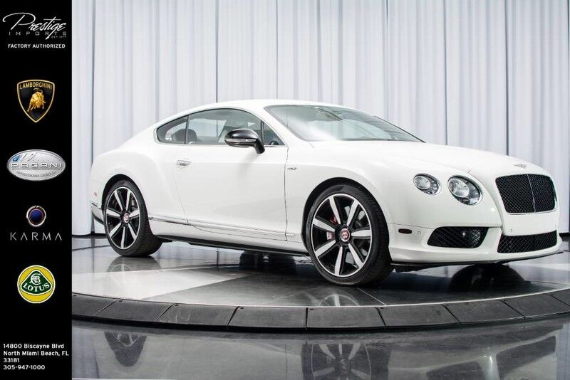 2015_Bentley_Continental GT V8 S__ North Miami Beach FL