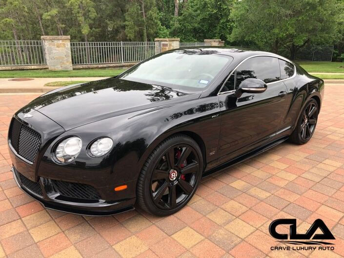 2015 Bentley Continental GT V8 S  The Woodlands TX