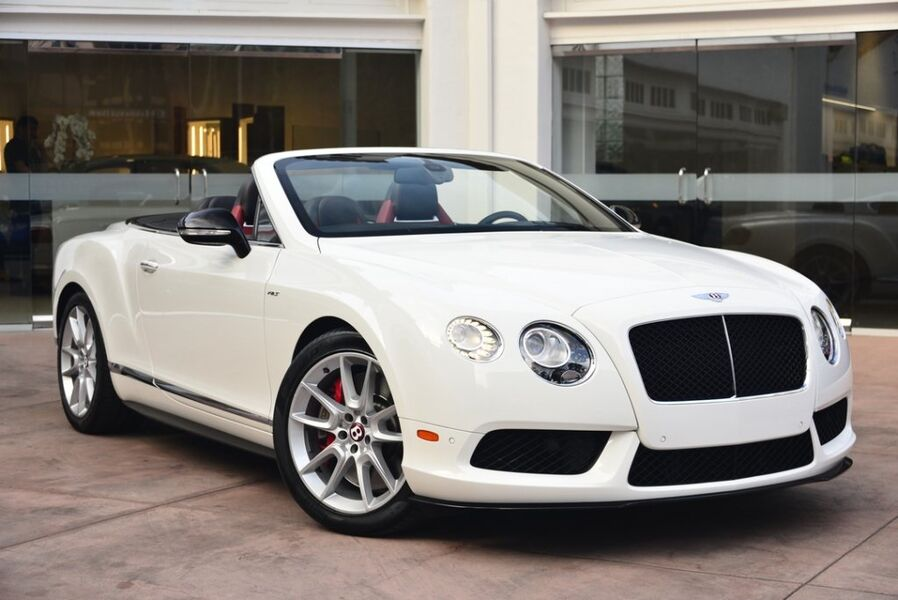 gt motors convertible at bentley continental haims detail used