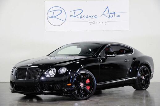 2015 Bentley Continental GT V8 S Mulliner Spec Sports Exhaust Ceramic Brakes The Colony TX