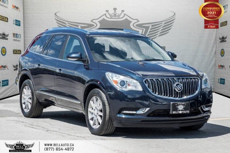 2015 Buick Enclave Leather, AWD, 7 PASS, DVD, NAVI, REAR CAM, NO ACCIDENT Toronto ON