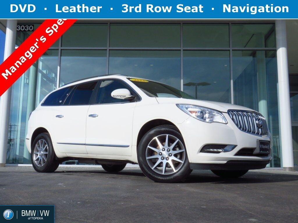 2015 Buick Enclave Leather Group Topeka KS