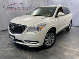 2015_Buick_Enclave_Premium / 3.6L V6 Engine / AWD / Third Row Seats / Navigation / Parking Aid with Rear View Camera / BOSE Premium Sound System / Touch Screen / Blind Spot Detection / Remote Start / Heated Leather Seats_ Addison IL