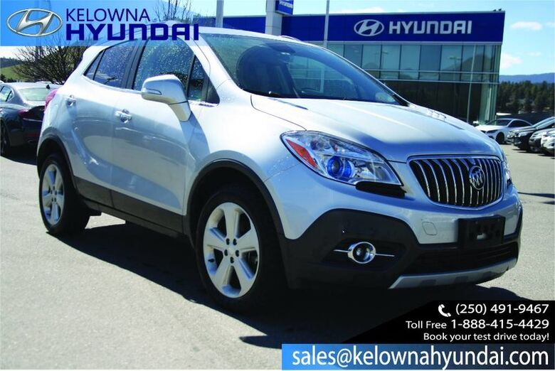 2015 Buick Encore AWD One owner Kelowna BC