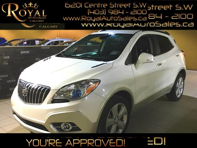 2015_Buick_Encore_LEATHER, BLUETOOTH, HEATED SEATS_ Calgary AB