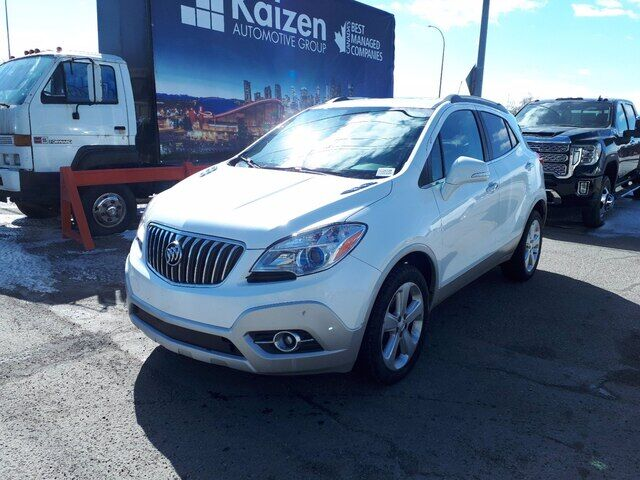 2015 Buick Encore Leather | 1.4L 4 Cyl | Backup Camera Calgary AB