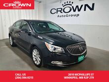 2015_Buick_LaCrosse_FWD/ ACCIDENT-FREE HISTORY/winter tires/ LOW KMS/ HEATED SEATS/SUNROOF/BACK UP CAM_ Winnipeg MB