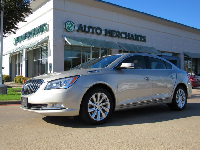 2015 Buick LaCrosse Leather Package HTD SEATS, BACKUP CAM, AUX/USB INPUT, SUNROOF, BLUETOOTH, CD PLAYER Plano TX