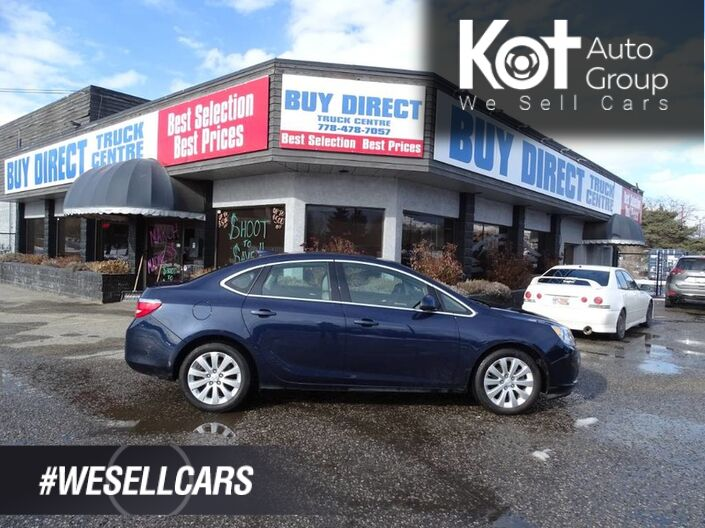 2015 Buick Verano Leather Seats, Back-up Camera Penticton BC