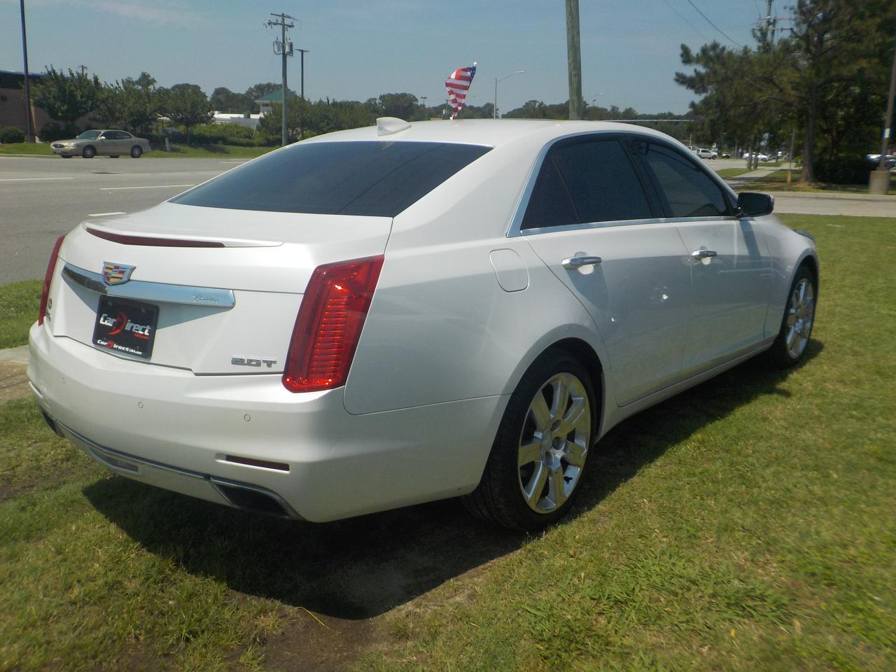 2015 CADILLAC CTS PREMIUM AWD, WARRANTY, BOSE SOUND SYSTEM, TINTED WINDOWS, REMOTE START, NAVIGATION, BACKUP CAMERA! Virginia Beach VA
