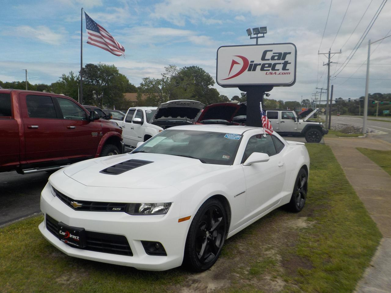 2015 CHEVROLET CAMARO COUPE 2SS, 6-SPEED MANUAL, WARRANTY, BACKUP CAMERA, ONSTAR, BLUETOOTH, PARKING SENSORS, LEATHER!!! Virginia Beach VA