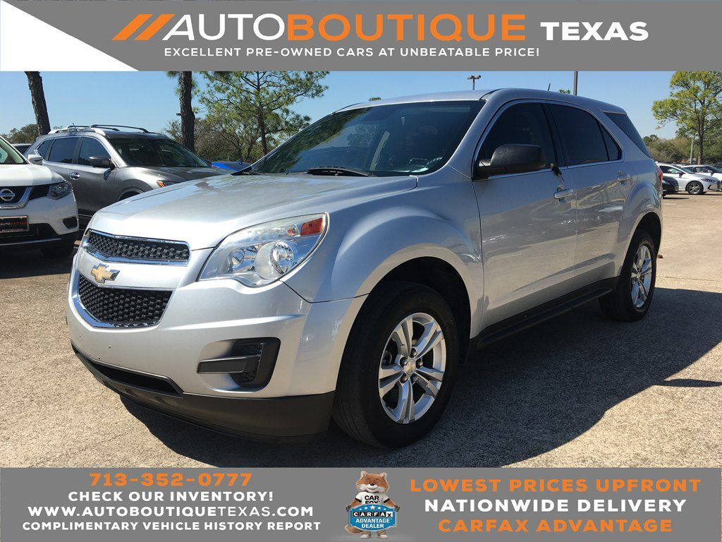 2015 CHEVROLET EQUINOX LS LS Houston TX
