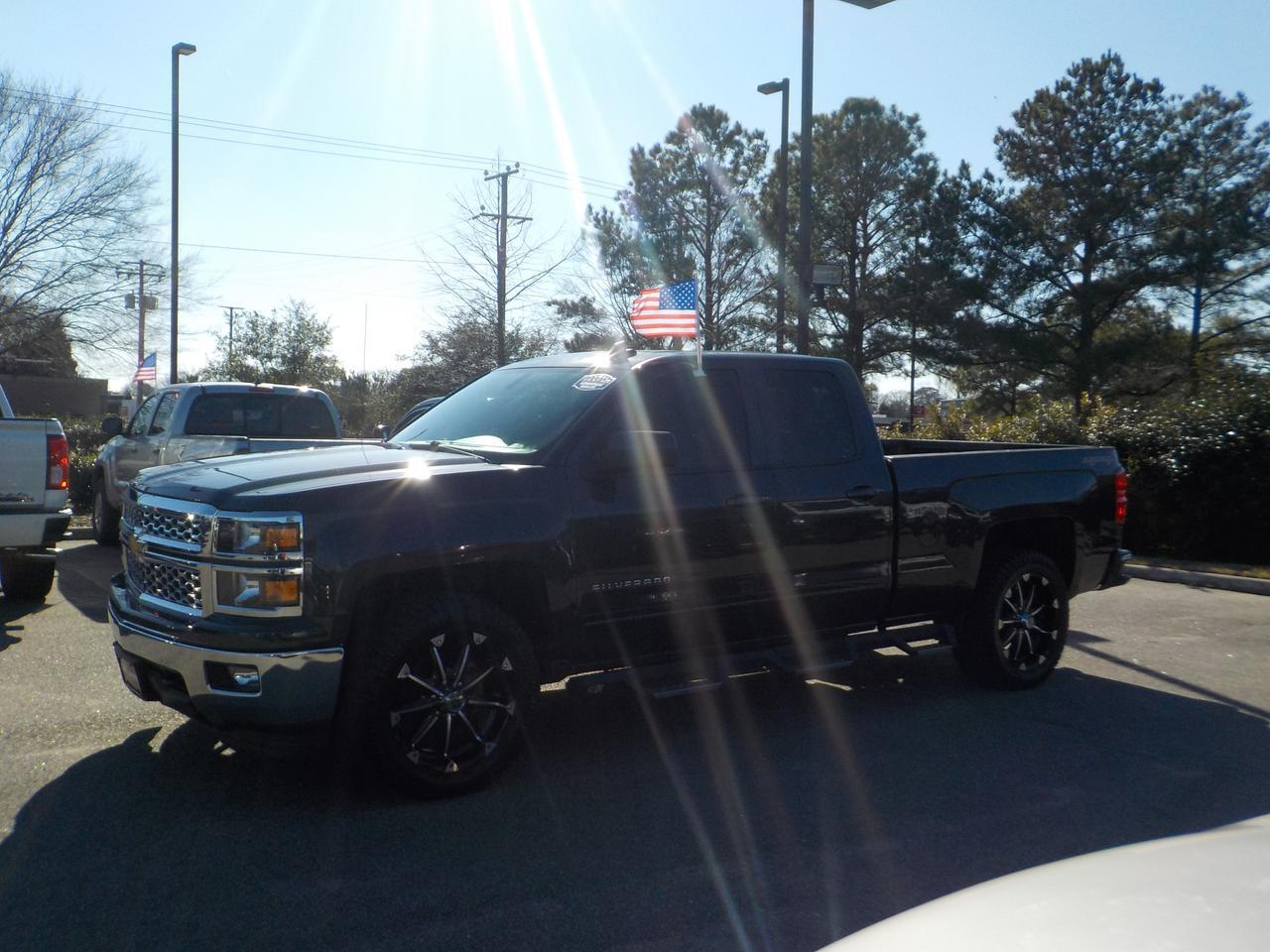 2015 CHEVROLET SILVERADO 1500 DOUBLE CAB LT 4X4, TOW PACKAGE, BACKUP CAMERA, REMOTE START, NAVIGATION, ONLY 40K MILES! Virginia Beach VA