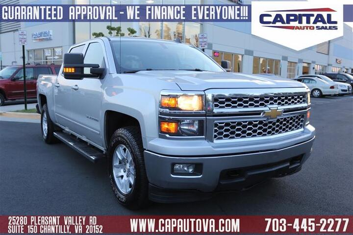 2015 CHEVROLET SILVERADO 1500 LT Chantilly VA