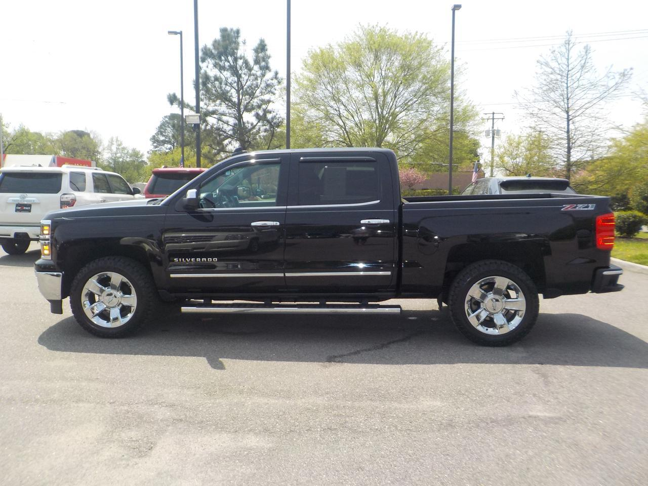2015 CHEVROLET SILVERADO CREW CAB LTZ Z71 OFFROAD 4X4, ONE OWNER, LEATHER, BOSE SPEAKERS, NAVI, REMOTE START,  TOW PACKAGE! Virginia Beach VA
