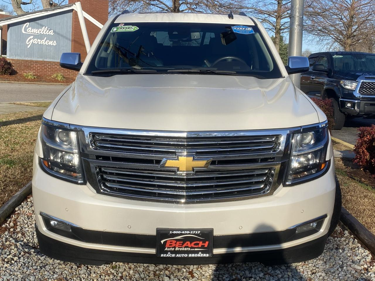 2015 CHEVROLET SUBURBAN LTZ, WARRANTY, LEATHER, NAV, SUNROOF, HEATED/COOLED SEATS, DVD PLAYER, FULLY LOADED! Norfolk VA