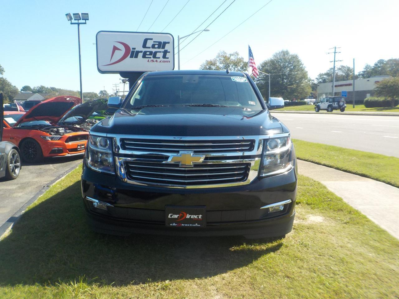 2015 CHEVROLET TAHOE LTZ 4X4, LEATHER, HEATED/COOLED SEATS, 3RD ROW, NAV, SUNROOF, REMOTE START, BACKUP CAM,CLEAN CARFAX! Virginia Beach VA