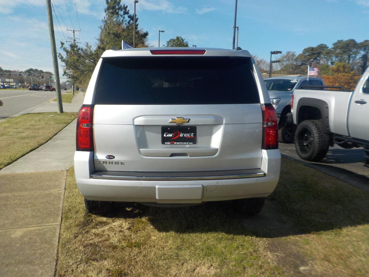 2015 CHEVROLET TAHOE LTZ 4X4, LEATHER, NAVI, DVD, BOSE SOUND SYSTEM, HEATED & COOLED SEATS, SUNROOF, POWER LIFTGATE! Virginia Beach VA